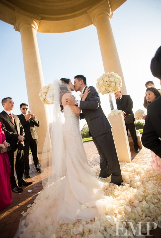 Newport Beach Pelican Hills Resort Asian Bride Wedding