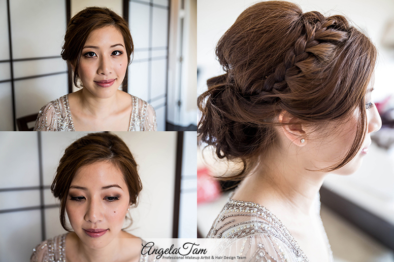 Beauty Hairstyle Indian Engagement Hairstyle For Bride