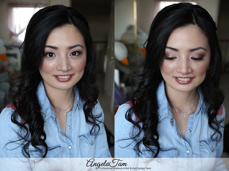 Orange County Annie Makeup Session Angela Tam Artist Team Wedding Celebrity Hair