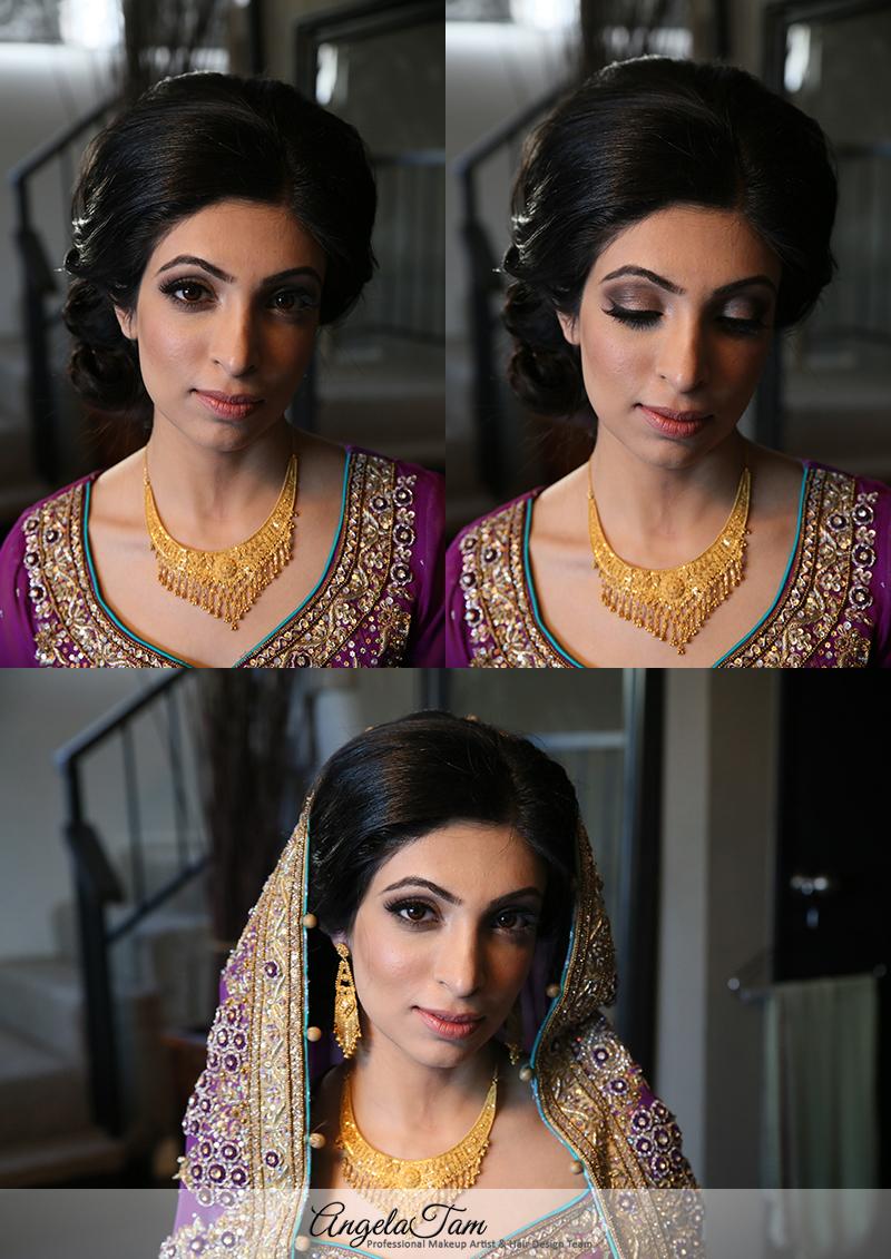 costa mesa hilton indian wedding makeup artist >> angela tam