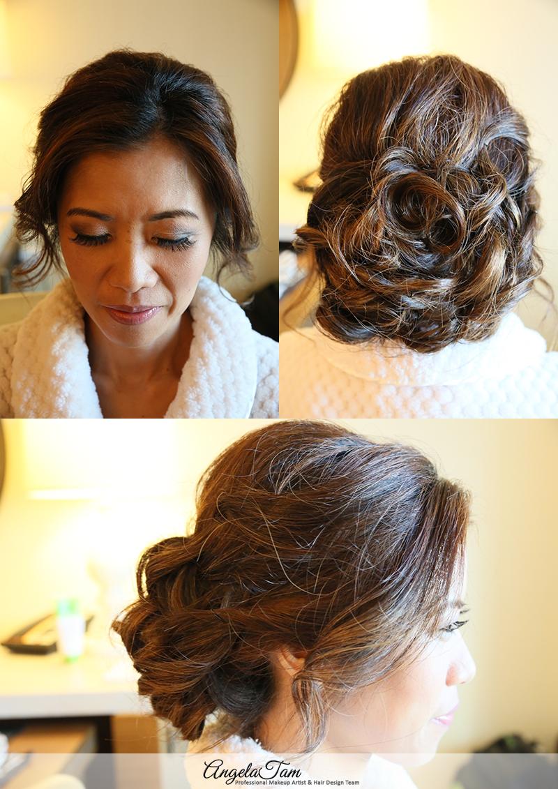 celebrity makeup artist and hair stylist >> angela tam | jw