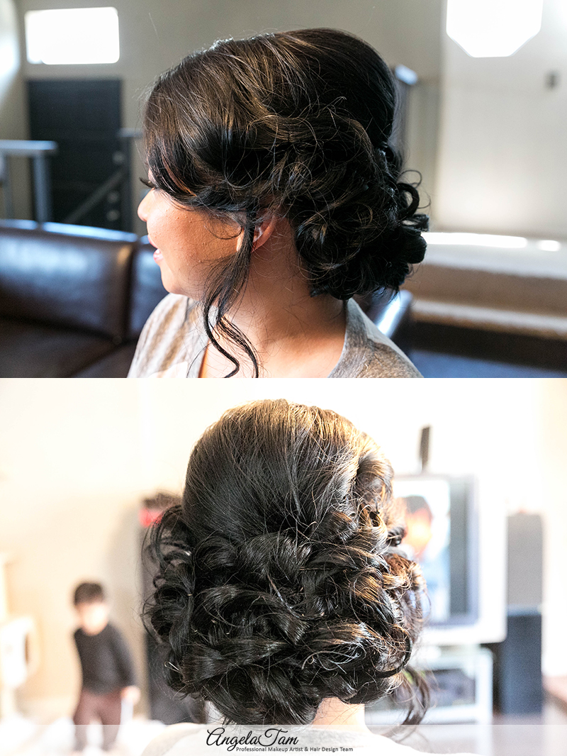 Bridal Hair Accessories San Diego : Asian bride wedding makeup artist and hair stylist