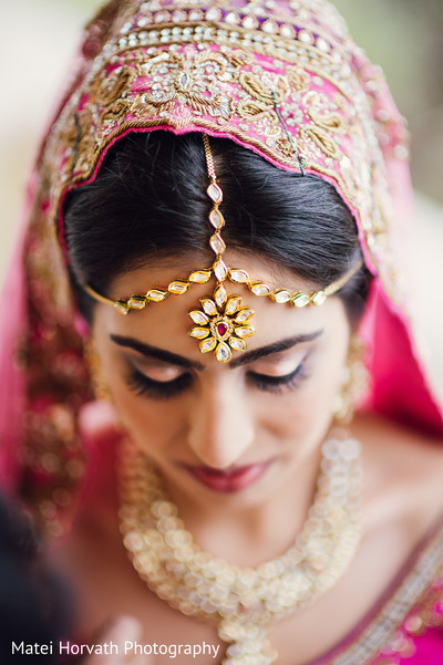 Indian Wedding South Asian Bride Makeup Artist And Hair