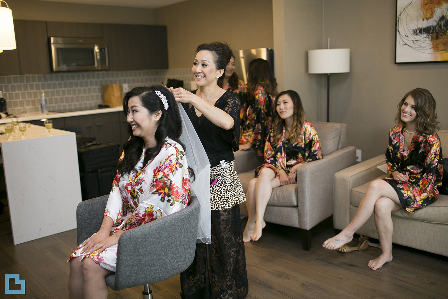 Aventura Hotel Wedding Makeup and Hair Getting Ready | Miko